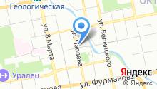 AMIRA на карте