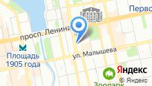 Территориальный центр мониторинга и реагирования на чрезвычайные ситуации в Свердловской области на карте