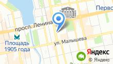 Екатеринбургский учебный центр ФПС на карте