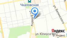 Отдел строительства и земельных отношений Администрации Чкаловского района на карте