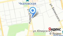 Районная территориальная избирательная комиссия г. Екатеринбурга на карте