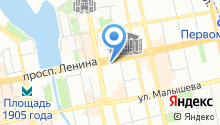 Birch на карте