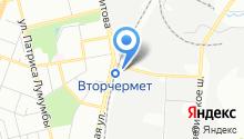 *омега* на карте