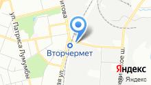 AET на карте