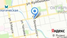 КЭП на карте