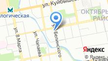 Запсибкомбанк, ПАО на карте