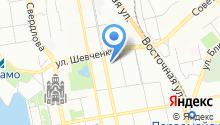 Правовое агентство консультационных технологий, АНО на карте