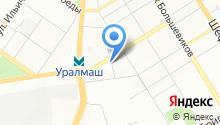 Бюро Переводов Екатеринбург на карте