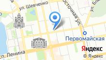 Военно-исторический зал Дома офицеров центрального военного округа на карте