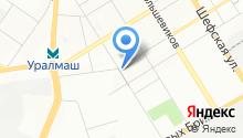 Отдел гражданской защиты населения Орджоникидзевского района на карте