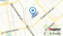 Свердловская областная библиотека для детей и молодежи им. В.П. Крапивина на карте