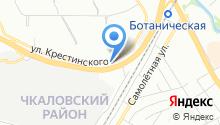 Режевской завод ЖБИ на карте