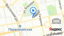 Банкомат, Банк Екатеринбург, ПАО на карте