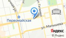 Уральский технологический центр на карте
