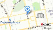 Терна-Екатеринбург на карте