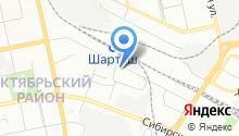 $M на карте
