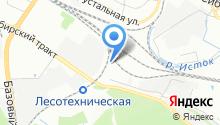 AUTOVECTOR на карте