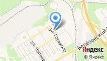 Березовская школа на карте