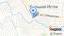 ИНСИ, ЗАО на карте