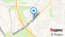 Березовский привоз на карте