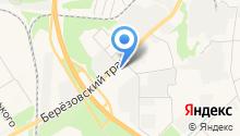 Березовск-автосервис на карте