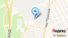 Березовский Грузовой Терминал на карте