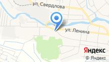 Кадастровый инженер Зверев С.А. на карте