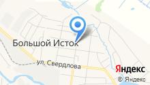 Икс на карте