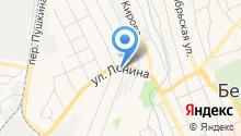 Отдел Военного комиссариата Свердловской области по г. Березовский на карте