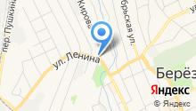 Дезинфекционная служба на карте