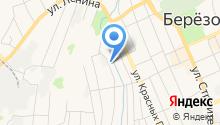 Березовский центр занятости на карте