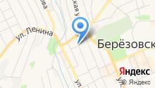 Отдел вневедомственной охраны по г. Берёзовскому на карте