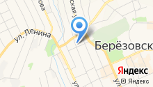 Отдел МВД России по г. Березовский на карте