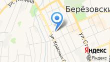 Автостоянка на ул. Красных Героев на карте