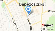 Вознесенский центр-Березовский на карте
