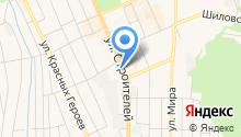 Автовокзал Березовский на карте