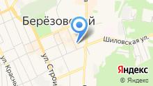 Недвижимость Урала-Березовский на карте
