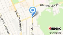 Уральская метелица на карте
