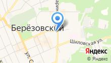 ЗАГС г. Берёзовского на карте