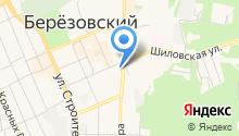 Ежевика на карте