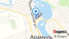 Компания по прокату инструментов на карте
