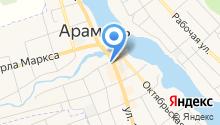 Комплексный центр социального обслуживания населения г. Арамиля на карте