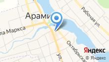 Арамильское ГОРПО на карте