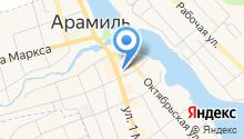 Арамильский городской рынок на карте