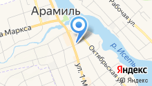 Равис-птицефабрика Сосновская на карте