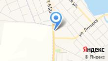 Мясная лавка на ул. 1 мая на карте