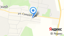 Бородулинский на карте