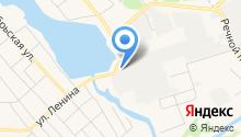 АСТ-ЕК на карте