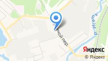 Дека-Урал на карте