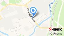 Магазин по продаже продовольственных товаров на карте
